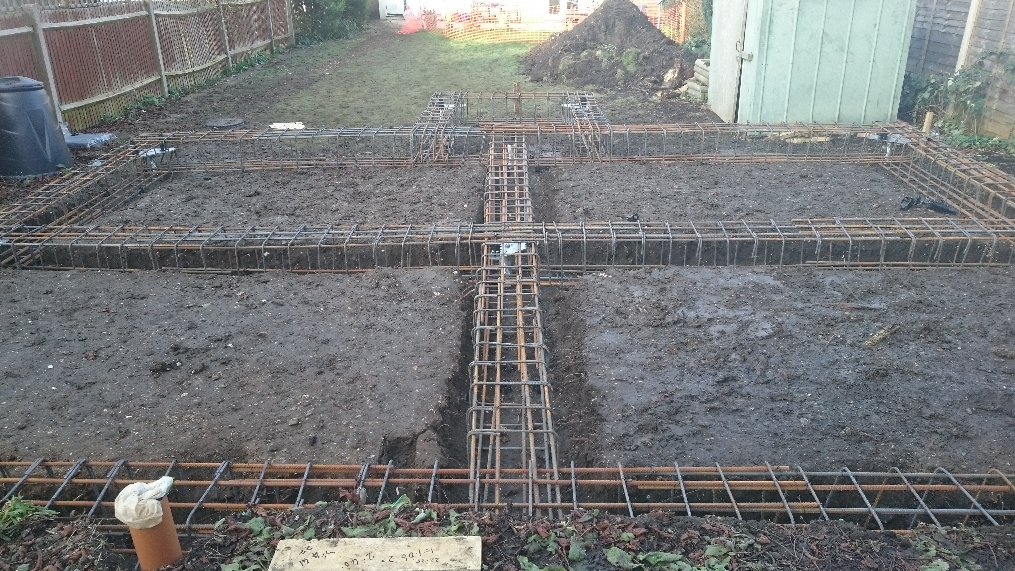 New helical pile foundations sutton surrey case for Foundation pilings