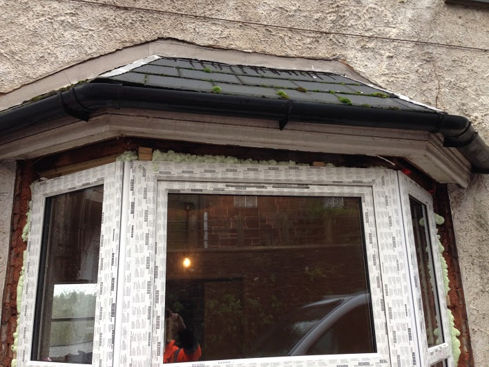Bay Window replacement - Subsidence and Bowing Wall Repair, Crediton, Devon