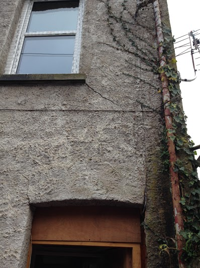 Cracking under window - Subsidence and Bowing Wall Repair, Crediton, Devon