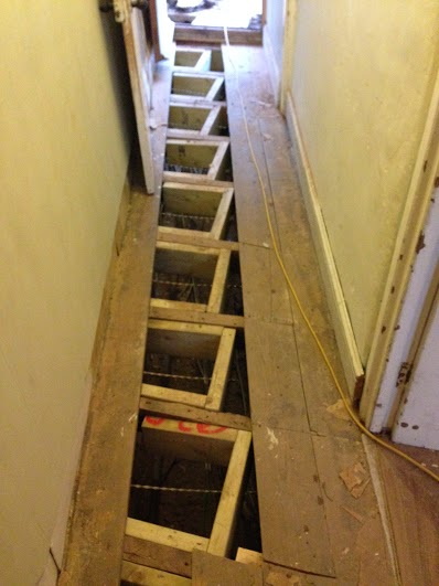 Bow Flex installation - Subsidence and Bowing Wall Repair, Crediton, Devon